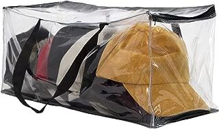 Houseables Hat Storage Organizer, Baseball Cap Bag, Washer Case, 23