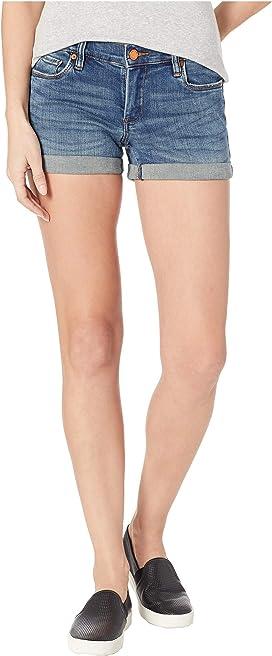 037021c72b03 Blank NYC Denim Cuffed Distressed Shorts in Weekend Warrior   Zappos.com