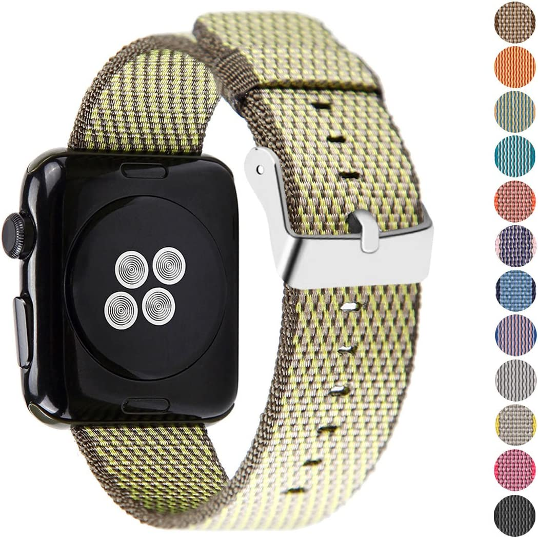 Pantheon Compatible Apple Watch Band 38mm 40mm Nylon - Compatible iWatch Bands / Strap for Women or Men Fits Series SE 6 5 4 3 2 1