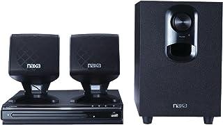 Naxa Electronics nd-8572.1-Channel DVD Sistema de Cine en casa con Progressive Scan Reproductor de DVD y USB de Entrada