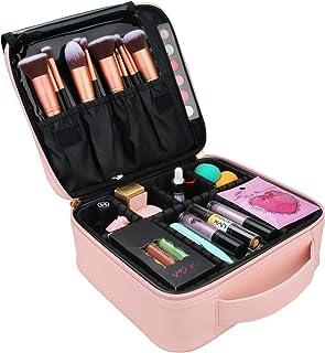 Relavel Makeup Case Travel Makeup Bag for Women Makeup Train Case Cosmetic Bag Toiletry..