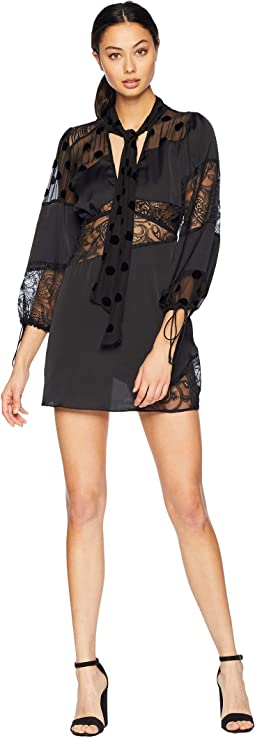 Rosalyn Paneled Mini Dress