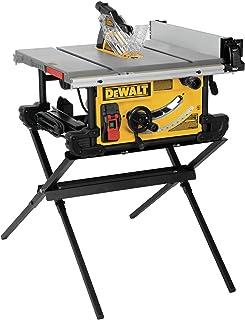 DEWALT DWE7491X 10 In. Table Saw with Scissor Stand