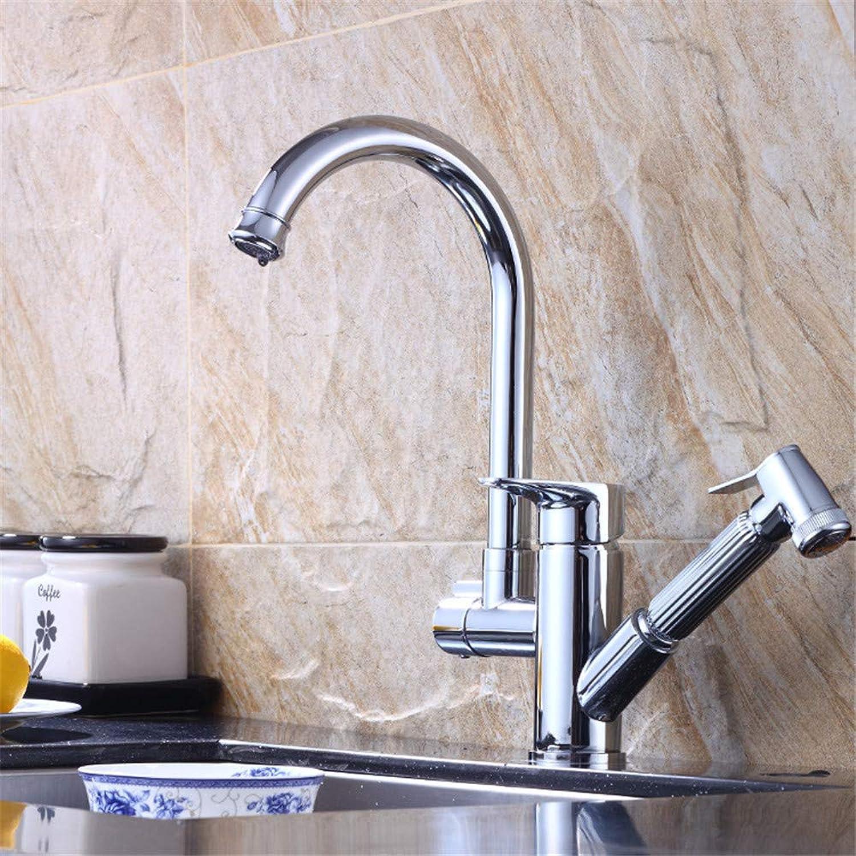 Kupfer ziehen Waschtischmischer Wasserhahn warmes und kaltes Wasser Einhandbecken Wasserhahn Bad