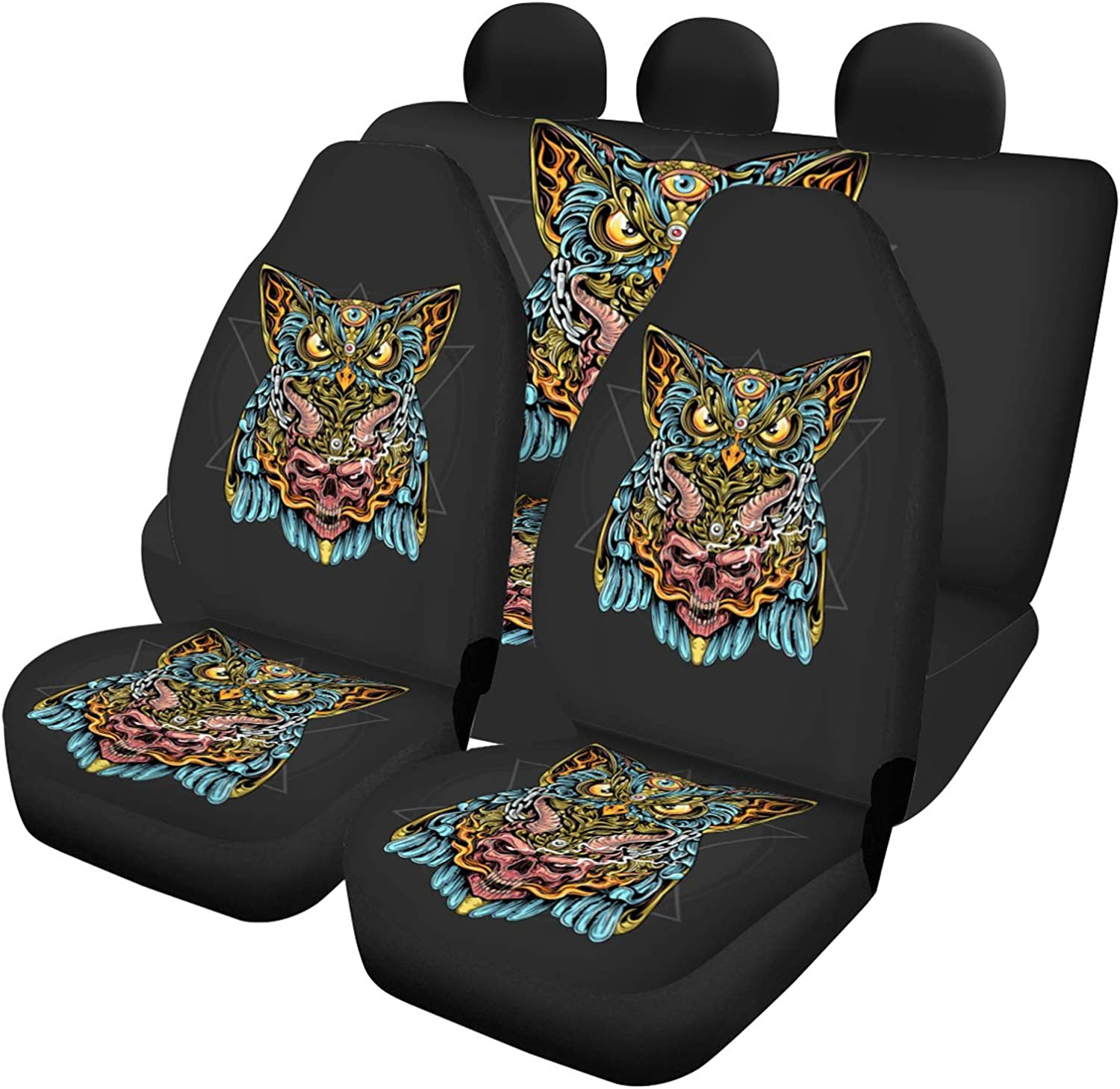Car Seat Jacksonville Mall Covers 5 Full Set Universal Protector Interior Albuquerque Mall