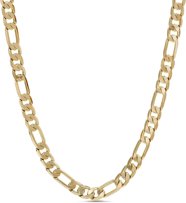 日本正規品 Nautica 1mm - 3mm Figaro Chain Necklace 春の新作シューズ満載 or in for Yell Men Women