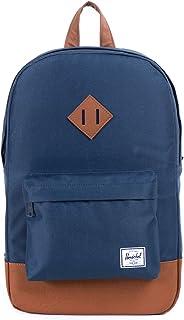 Herschel 10007-00007-OS Heritage Two-Tone Backpack - Unisex, Navy Blue