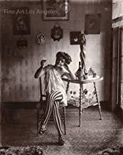 Fine Art Los Angeles Bellocq Photo of Storyville Prostitute #5, New Orleans, 1910-1915
