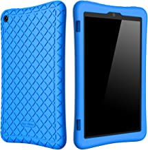 Bear Motion Silicone Case for Fire HD 8 2017/2018 - Anti Slip Shockproof Light Weight Kids Friendly Protective Case for Al...