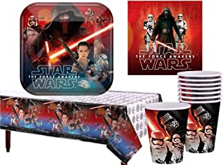 Star Wars The Force Awakens Party Supply Pack for 16 (AMZ)