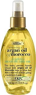OGX, Hair Oil, Renewing+ Argan Oil of Morocco, Weightless Reviving Dry Oil, Spray, 118ml