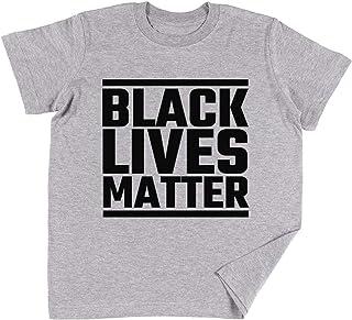 Vendax Black Lives Matter Niños Chicos Chicas Unisexo Camiseta Gris