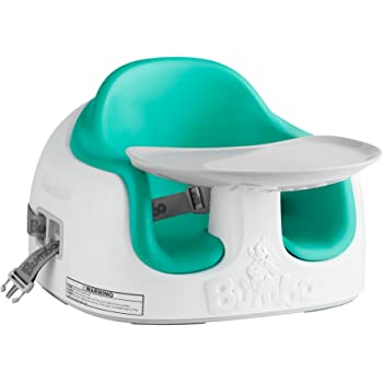 Bumbo Multi Seat, Converts Into Booster Seat and High Chair - Aqua