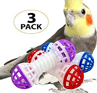 Bonka Bird Toys 1206 Stuffed Foraging 1309 Roller 1195 Play Foot Talon Three Bird Toy Balls Cockatiel Parakeet Toys cage Cages Parrot cat