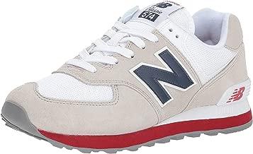 new balance 574 hombres blancas