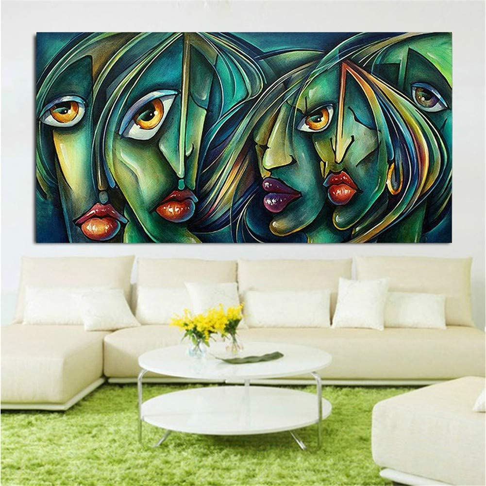 Diamond Embroidery Gorgeous Large security DIY 5D Abstract Painting Kits F