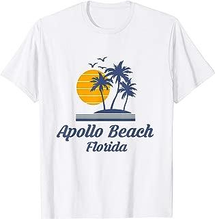 Apollo Beach Florida FL Tourist Surf Souvenir Vacation Gift T-Shirt