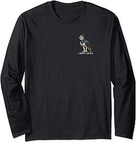 Harpy Eagle - 2 sided long sleeve T-shirt