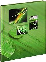Hama 00106265 Singo Pegar, álbum de Fotos Adhesivas (28 x 31 cm, 20 páginas), Color Verde, 28x31cm