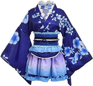 GRACEART Japanese Yukata Kimono Costume Anime Cosplay Robe