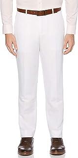 Perry Ellis Men's Portfolio Modern Fit Linen Blend Pants