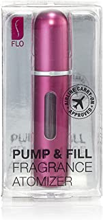 Pump and Fill Fragrance Atomizer by Flo (Black)