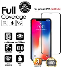 JGD PRODUCTS 6D/11D full edge to edge full glue screen protector tempered glass for Iphone X/XS