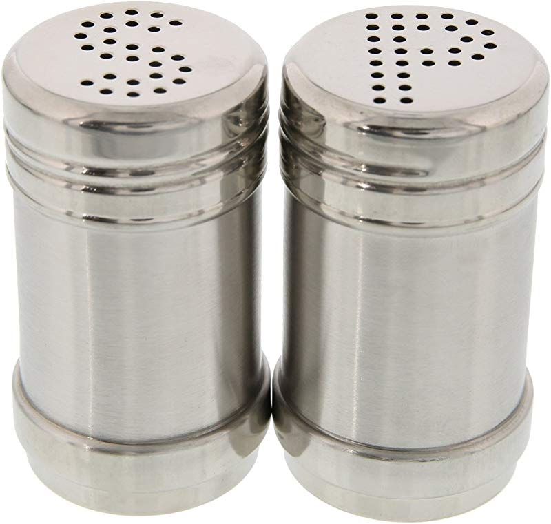 Salt And Pepper Shakers Modern Kitchen Stainless Steel Salt And Pepper Shakers 3 5 Inch