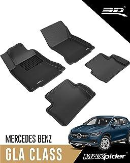 3D MAXpider - L1MB04801509 Complete Set Custom Fit All-Weather Floor Mat for Select Mercedes-Benz GLA-Class Models - Kagu ...
