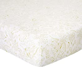 Yves Delorme - Élégante Floral Full Fitted Sheet - Luxury Fitted Sheet from France.