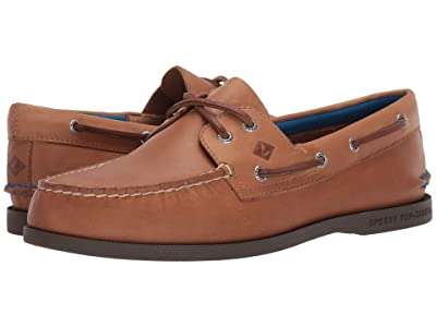 Sperry A/O 2-Eye Plush (Sahara) Men