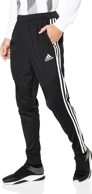 Adidas Australia Men's Tiro 19 Warm Pants, Black White