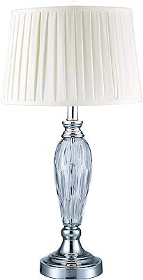 Dale Tiffany Lamps SGT17066F 24% Lead Crystal Table Lamp, Vella