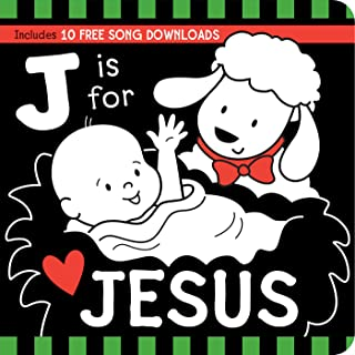 J Is for JESUS Black and White Board Book (Tell Me About God Board Books)