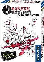 Kosmos 695095 - Murder Mystery Party - Pasta und Pistolen - Das Krimi-Dinner für zu Hause, Komplett-Set für genau 8 Person...