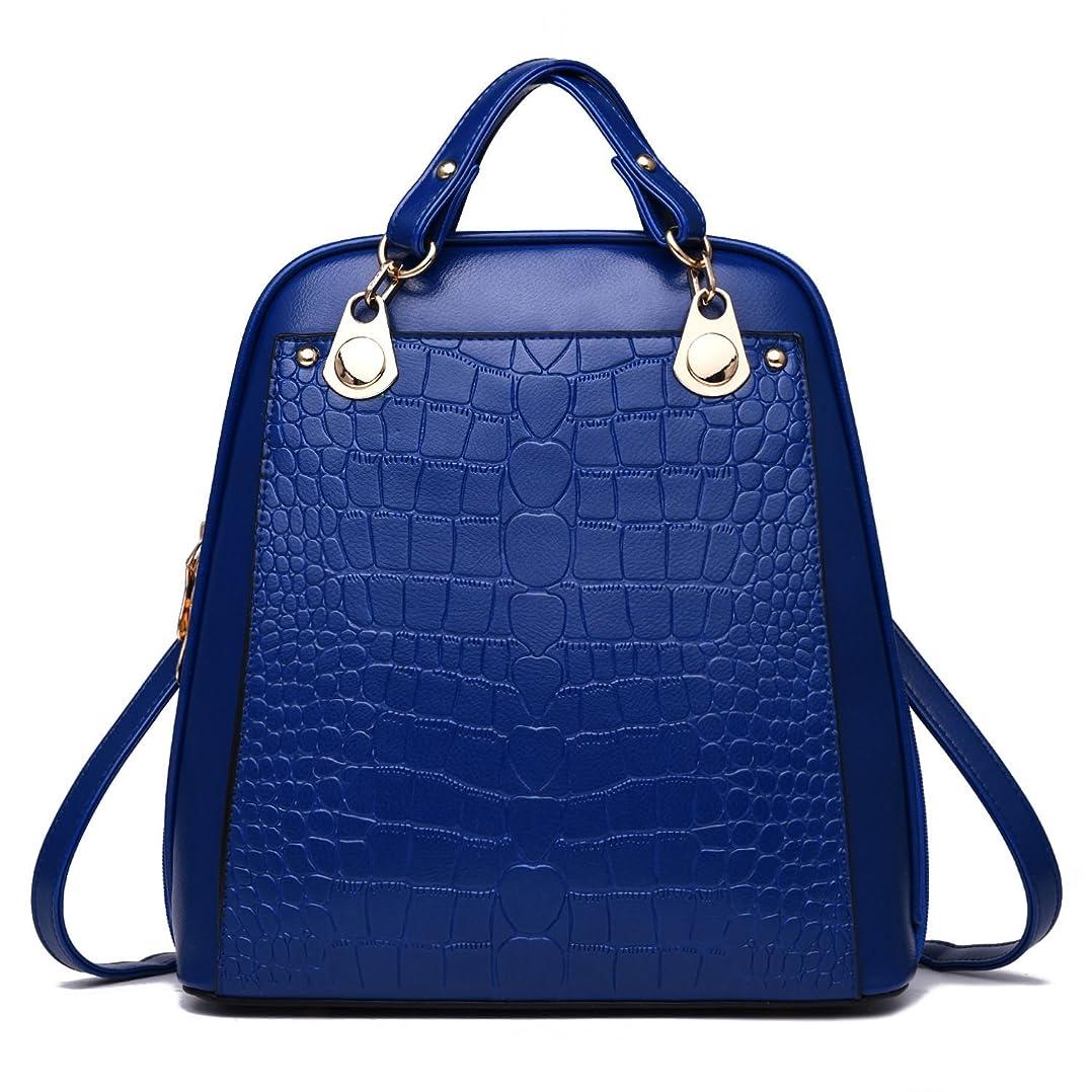 グレートオーク苦しむ子羊ファッション / バッグ?スーツケース /リュック?バックパック/タウンリュック?ビジネスリュック/ Women Travel Backpack Leather Handbag Shoulder School Bag Satchel Rucksack Bags