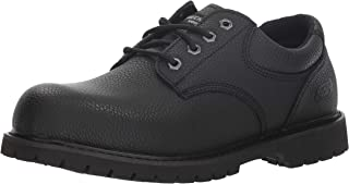 Men's Cottonwood-Jaken Food Service Shoe, Black, 7.5 Medium