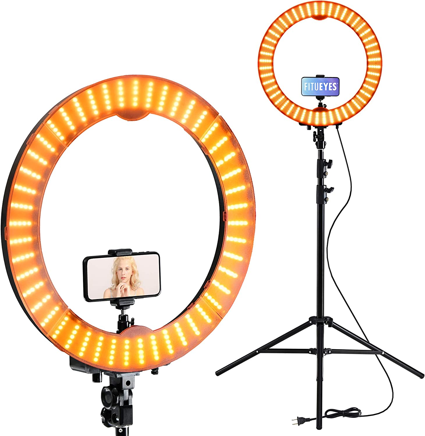 18 Inch Ring Light Stand 5500K with Stands Lights Cell 5 ☆ very popular Led List price