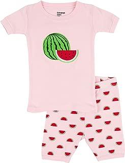 Kids & Toddler Pajamas Girls Shorts 2 Piece Pjs Set 100% Cotton Sleepwear (2-10 Years)