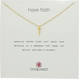 Have Faith Long Cross Necklace