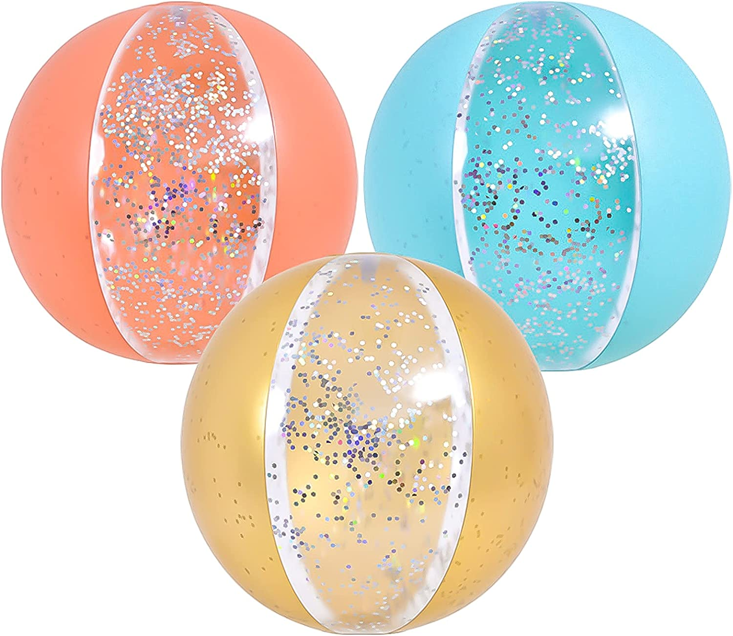 3 Pack Be super welcome excellence Inflatable Beach Ball Kids for Large Color 20