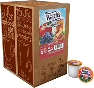 Welch's Fruit Ciders Variety Pack for Keurig K-Cup Brewers, 40 Count