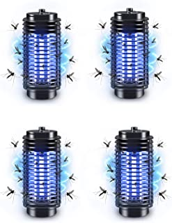 PECHTY Lámpara Antimosquitos, Lámpara Mosquito Electrico Lámpara Anti Mosquitos 2 en 1 Linterna de Camping con 2000mAh Recargable USB y 3 Brillo de Luz