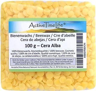 Bienenwachs Pastillen Bio, gelb, 100 g, für Kosmetik Kerzen Cremes Salben Seifen