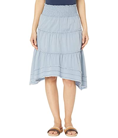XCVI Dashiell Brio Poplin Skirt