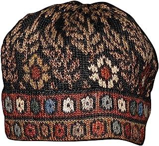 Invisible World Women's 100% Alpaca Wool Hat Knit Unisex Beanie Tibet