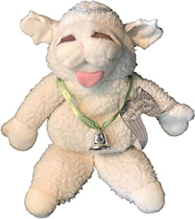 "Shari Lewis Plush 16"" Baby Lamb Chop Puppet Doll with Angel Wings"