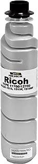 Compatible Toner Ctg Black (Type 1170D) 1-230GR Btl Replacement For Ricoh Gestetner Lanier Savin (Part Number: 841718) For Ld015 Ld015F Ld015SPF Ld016 Ld016F Ld016SPF