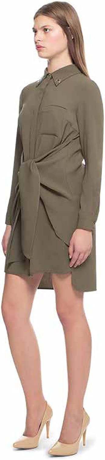 Casual Young Official Blitz Midi Skirt Olive Night