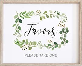 take a favor sign